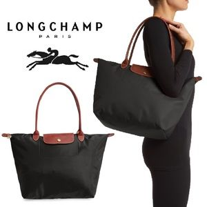 Longchamp Large Le Pliage large Nylon Tote